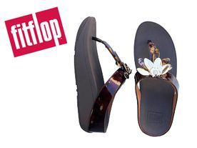 Fitflop Conga Dragonflye Toe chocolate