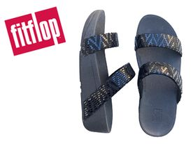Fitflop Lottie Chevron Slide black