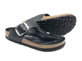 Birkenstock Gizeh Big Buckle Leather black