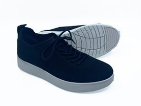 Fitflop Rally Tennis Sneaker Knit black
