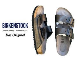 Birkenstock Arizona metallic anthrazit