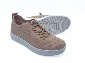 Fitflop Rally Tennis Sneaker Knit blush