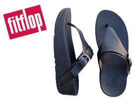 Fitflop Edit Buckle Toe black