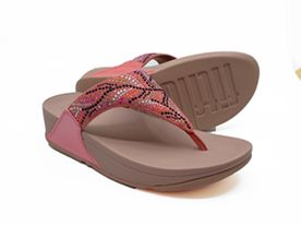 Fitflop Lulu Toe Post pink