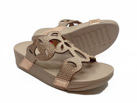 Fitflop Elora Slide Crystal rose gold