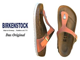 Birkenstock Gizeh sea copper
