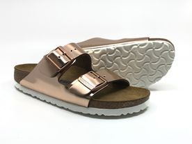 Birkenstock Arizona SFB Metallic rose gold