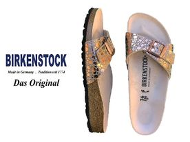Birkenstock Madrid stone copper