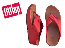 Fitflop Twiss Toe passion red
