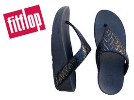 Fitflop Lottie Chevron Toe black