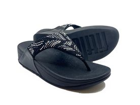 Fitflop Lulu Toe Post all black