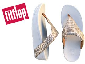 Fitflop Lottie Chain Toe silver