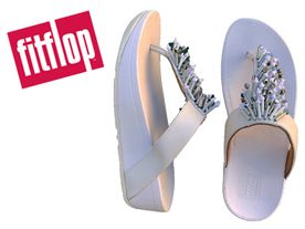 Fitflop Jive Treasure Toe urban white