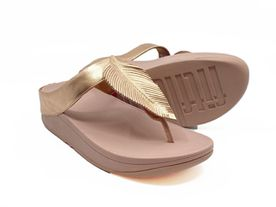Fitflop Fino Toe Post gold